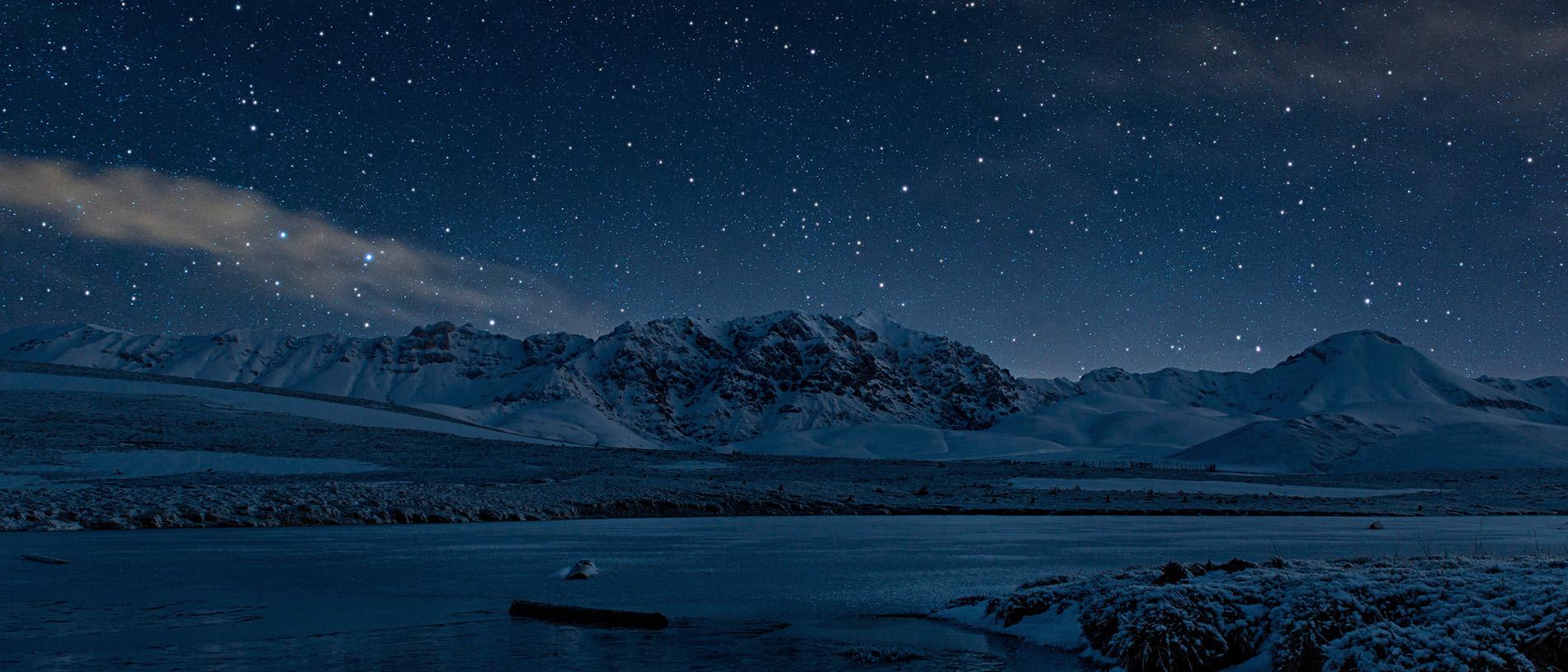 Fotografare paesaggi notturni